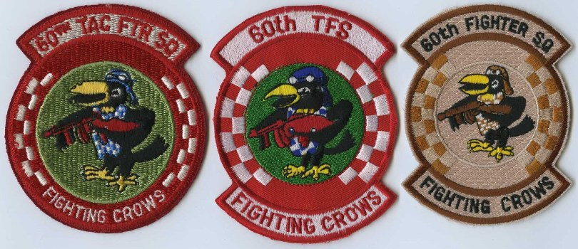 80s 186th FIGHTER INTCP SQUADRON patch