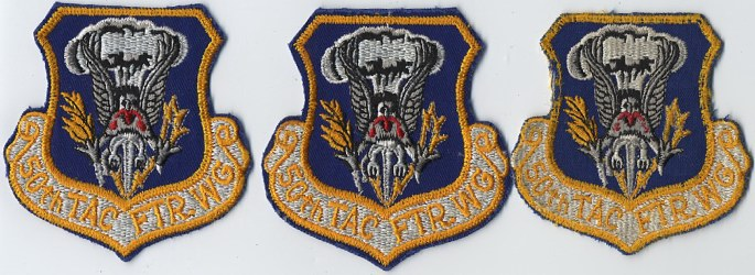 70s 343rd TAC FIGHTER GROUP patch