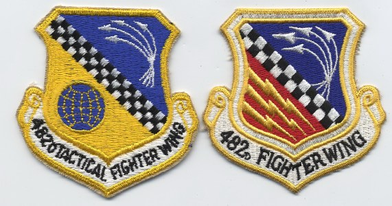 482nd fighter wing colored patch