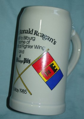 ROYAL AIR FORCE BRIZE NORTON  BASE BEER STEIN
